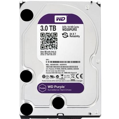 Afbeeldingen van WD Purple 3TB