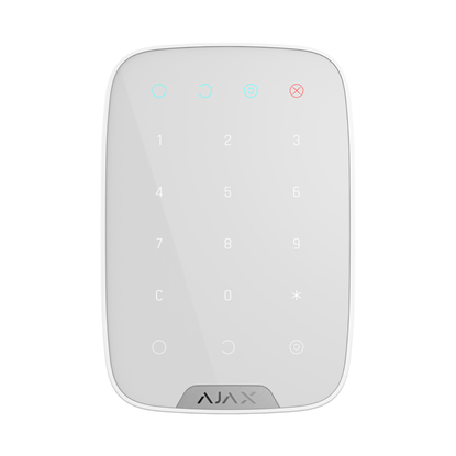 AJAX KeyPad white front