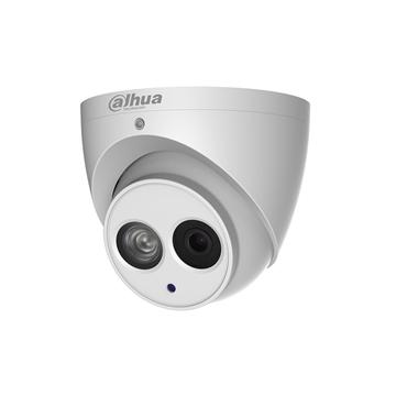 Afbeeldingen van IP Dome camera 8MP white Fixed lens SD MIC ePOE