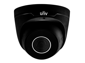 Afbeeldingen van IP Dome camera 4MP black motorised lens