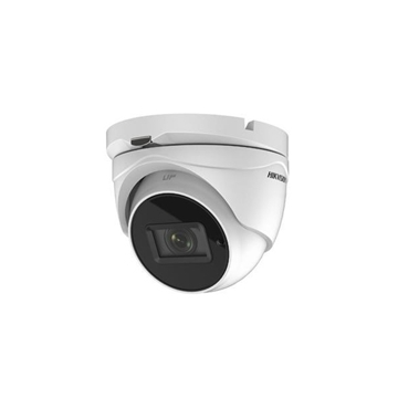 Image de HDTVI Dome camera 5MP white motorised lens POC