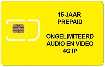 Image de PREPAID SIM 15 JAAR ONGELIMITEERD 4G voor 50 appartementen