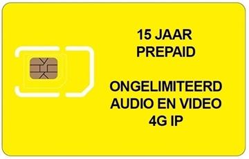 Image de PREPAID SIM 15 JAAR ONGELIMITEERD 4G voor 200 appartementen
